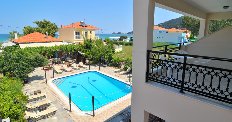 Green Sea Studios Apartments Holidays In Skala Potamia Thassos Island Greece Hotel